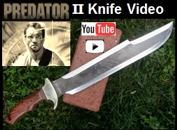 Billys Predator Knife II YouTube Link Video Pic