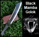 Black Mamba Golok Picture link to more pictures and order info