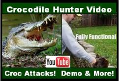 Crocodile Hunter Knife Video link. Influenced by the Movie Crocodile Dundee.  See us demonstrate the knife, footage of the Outback, 