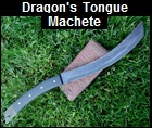 Dragons Tongue Machete Picture link to more pictures and order info