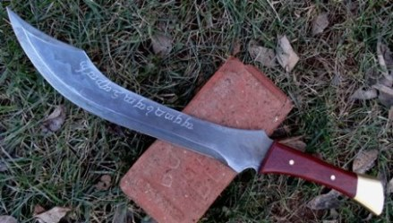 Stormbringer Aragorn Knife, Lord of the Rings Influence, Picture