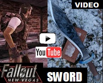 Fallout New Vegas Sword Machete Youtube Video Link