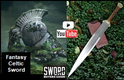 Fantasy Celtic Sword Video Link Picture]