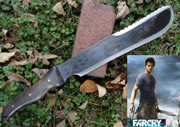 Picture of the Far Cry 3 Machete Influenced from the game
