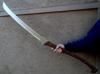 Middle Earch Warrior Sword Picture