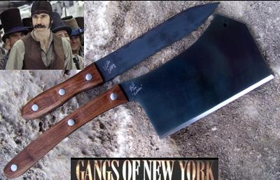Bill The Butcher Cleaver & William Cutting Knife – Influenced by Gangs of New York  Picture
