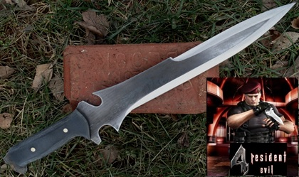 Jack Krauser's Knife from Resident Evil 4 Picture
