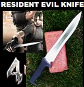 Handmade Resident Evil Knife – Influenced by Resident Evil 4 Game. Picture - Link to more pictures, prices,and detailed descriptions