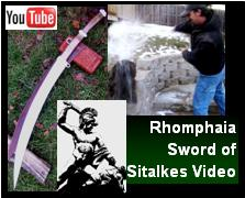 Greek Rhomphaia Sword of Sitalkes video Link