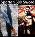 Handmade Spartan 300 Sword from Movie 300. Picture - Link to more pictures, prices,and detailed descriptions
