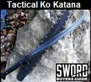 Tactical Ko Katana Picture link to more pictures and order info