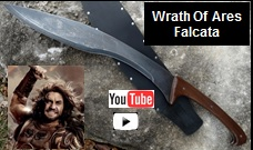 Wrath of Ares Falcata Sword YouTube Video Link