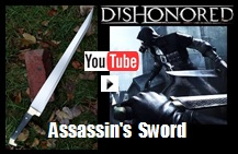Assassin's Sword Influenced from the Game Dishonored